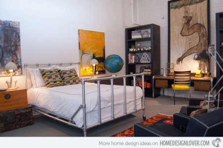 Salem Beds Industrial Chic