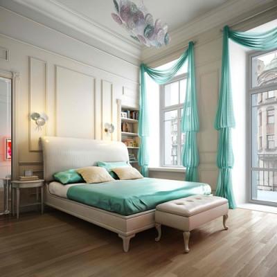 Salem Beds Pop of Color