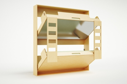 Casa Kids Folding Bunk Beds