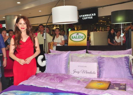 Jessy Mendiola Salem Bed