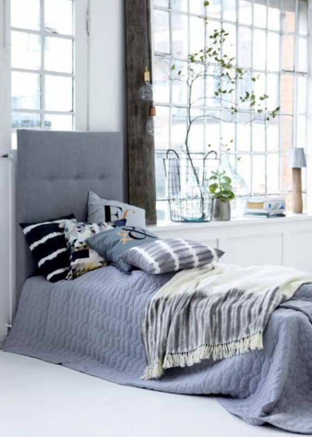 Salem beds Scandinavian bedrooms