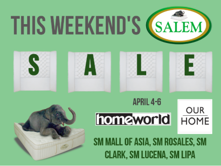 salem beds sale Apr 4-6
