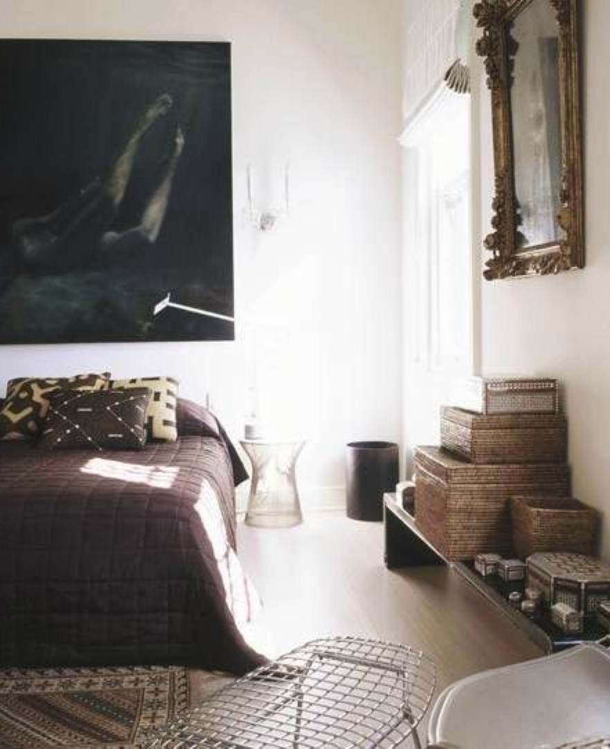 Simple Masculine Bedroom: Design Highlight: A Bachelor's Pad
