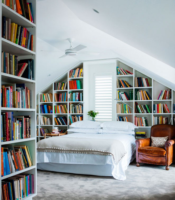 Design highlight library bedrooms the official blog for Book bedroom ideas