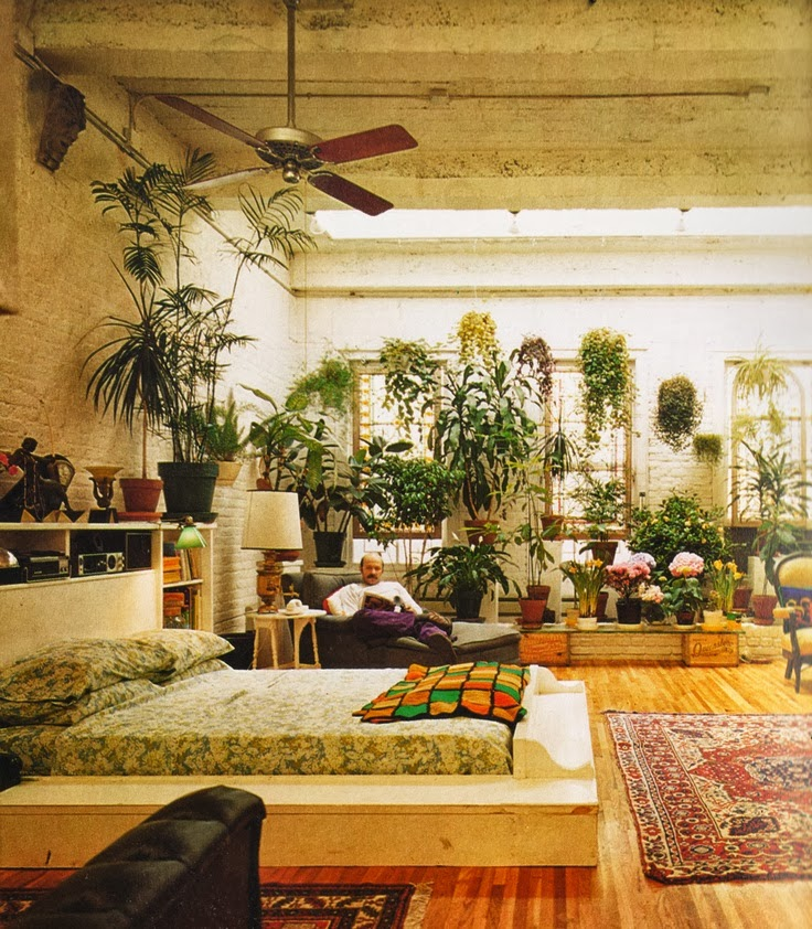 Accessories Home: Design Highlight: Bedrooms Using Live Plants As Decor