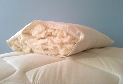 salem beds cotton filled pillow