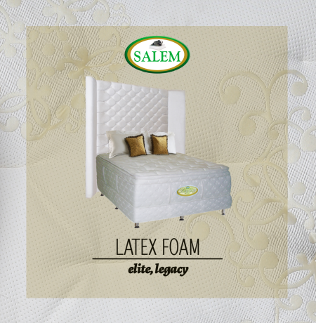 salem beds latex foam legacy