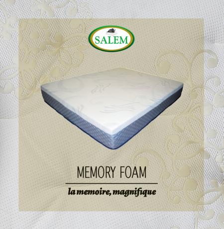 salem beds memory foam magnifique