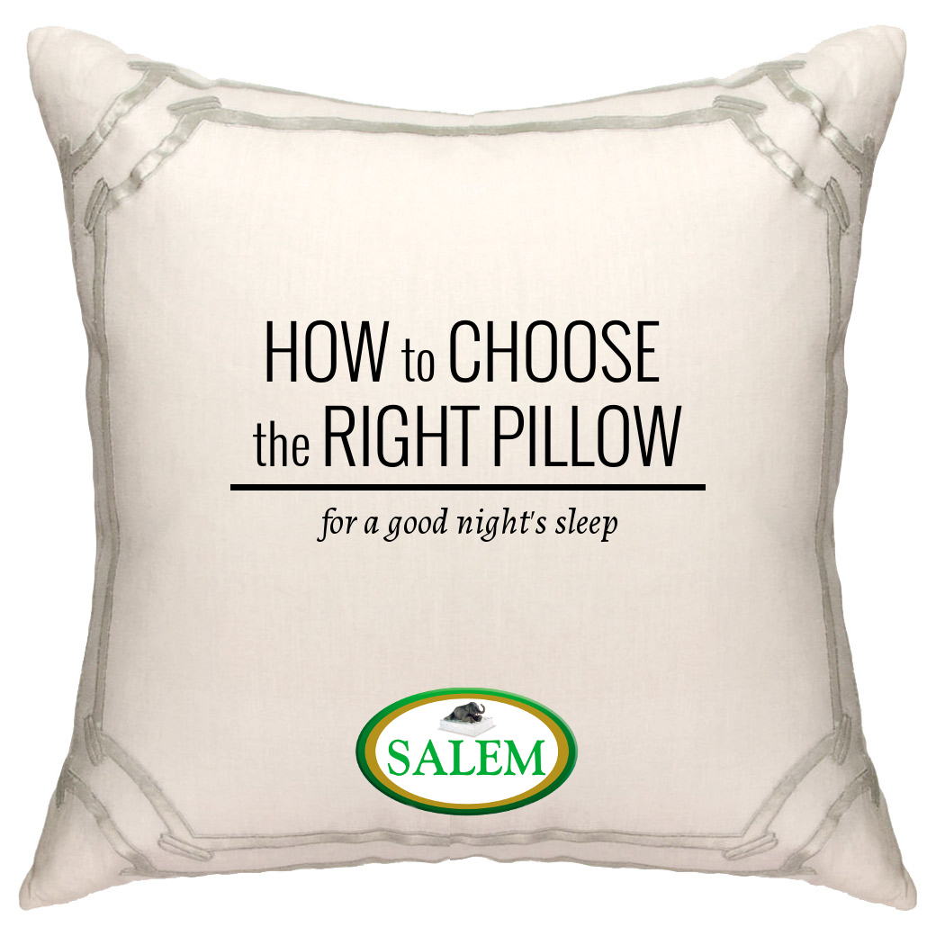 how to choose the right pillow for a good night u0027s sleep the