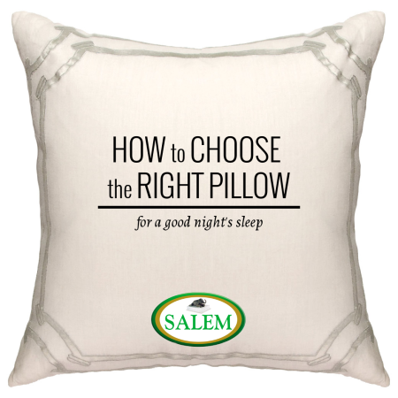 salem beds how to choose the right pillow banner