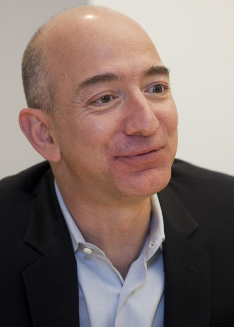 jeff besos Why jeff bezos, with his love of money, risk, and outer space, may be just what  the washington post needs.