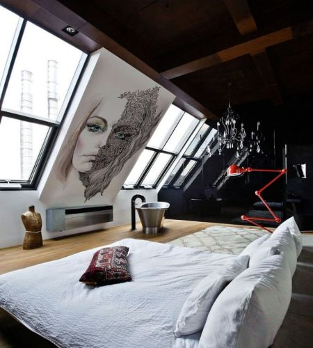 salem beds bedroom art