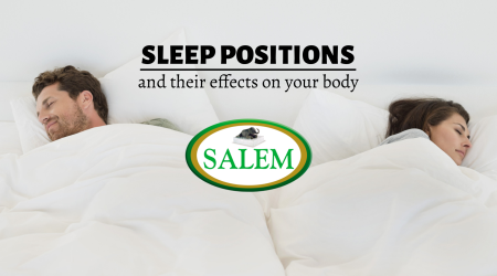salem beds sleep positions and effects