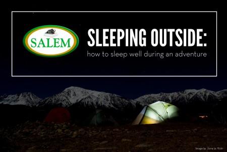 salem beds sleeping outside