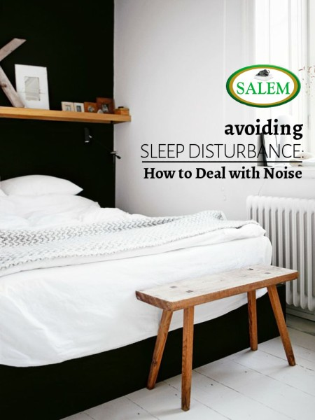 salem beds how to deal with noise