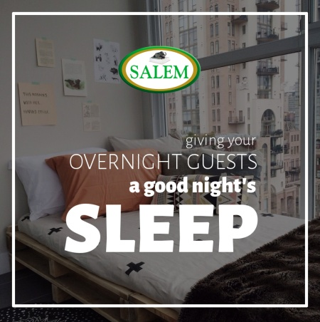 salem beds overnight guests