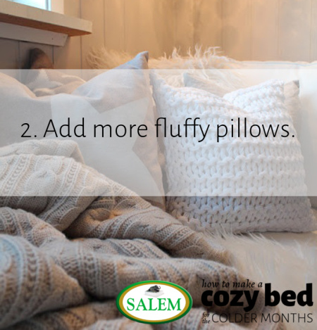 salem beds fluffy pillows