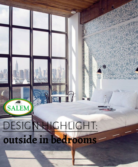 salem beds outdside in bedrooms