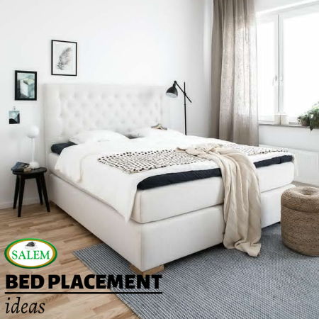 bed placement banner