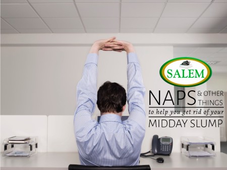 SALEM beds midday slump banner
