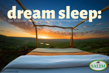salem beds dream sleep banner