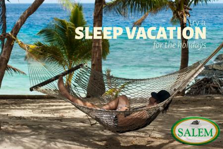 salem beds sleep vacation banner