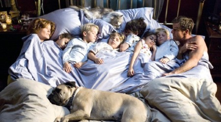 Crowded Bed Co-sleeping