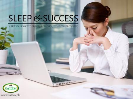 sleep success banner