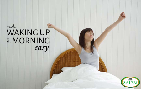 waking up easy