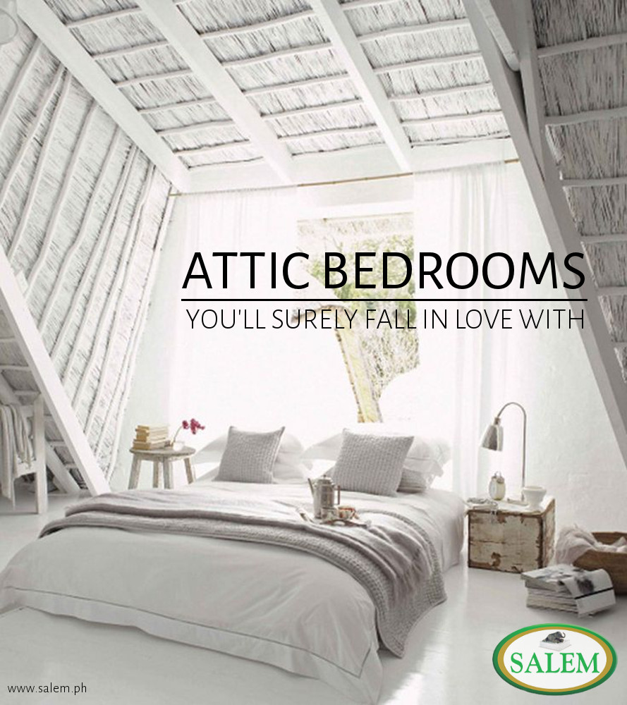 Bedroom Furniture You Ll Love: Attic Bedrooms You'll Surely Fall In Love With