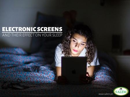 electronic screen sleep banner