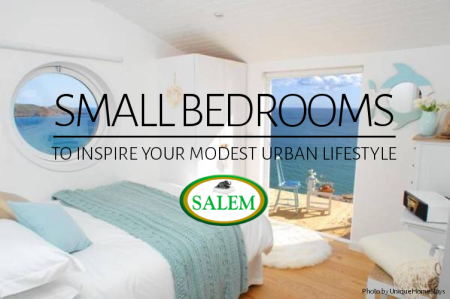 SMALL BEDROOMS banner