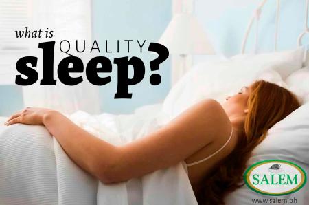 quality sleep banner