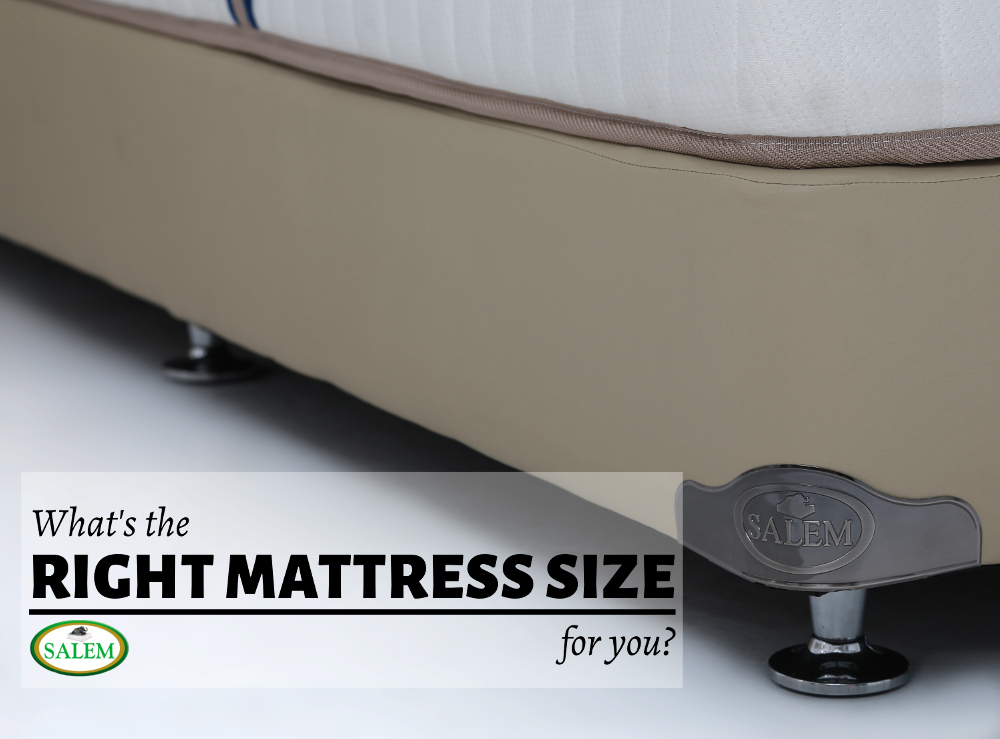 What s the right mattress size for you the official blog for Buy used mattress online