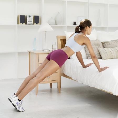 bedroom workout