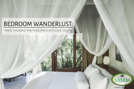 bedroom wanderlust