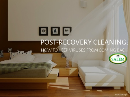 post recovery cleaning