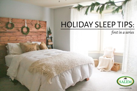 holiday sleep tips first