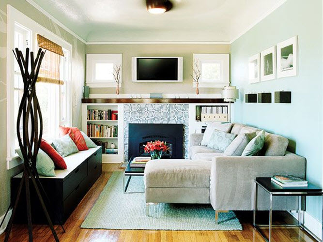 sectional sofa small room