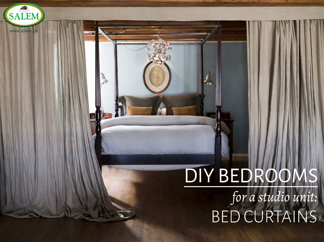 BED CURTAINS BANNER & studio apartments | the official blog