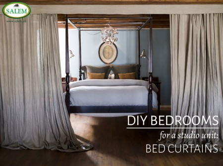 BED CURTAINS BANNER
