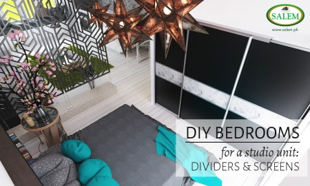 DIY BEDROOM BED SCREEN BANNER