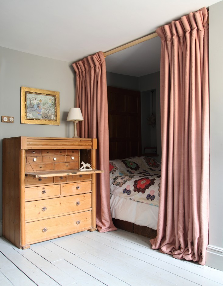 Diy Bedrooms For A Studio Unit Bed Curtains