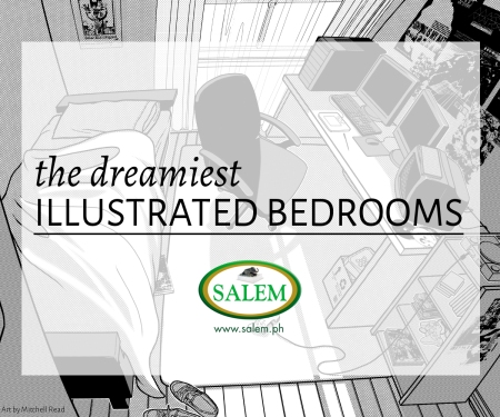 illustrated bedrooms banner
